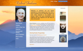 Meditation teacher Richard Shankman
