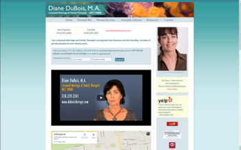 Therapist Diane DuBois