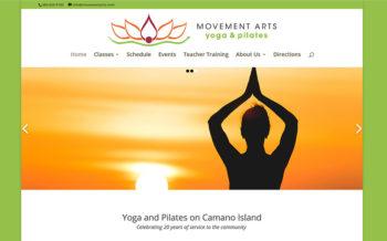 WordPress Theme for Yoga Studio