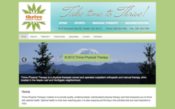 WordPress Theme for Physical Therapist